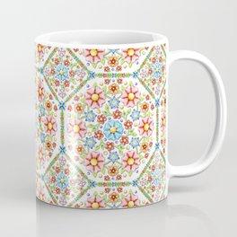 Ditsy Millefiori Pattern Coffee Mug