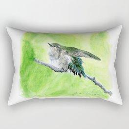 Little Hummer by Teresa Thompson Rectangular Pillow