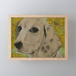 There's Nothing Like a Hound Dog Named Elvis Framed Mini Art Print