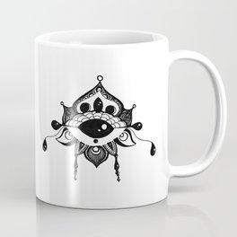 All Seeing Eye Bloom Coffee Mug