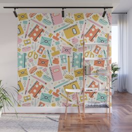 Stationery Love Wall Mural