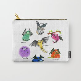 Seven Books, Seven Iggys Carry-All Pouch