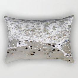 Pebbles on the beach Rectangular Pillow