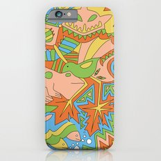 Abstract Animals iPhone 6s Slim Case