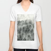 instagram V-neck T-shirts featuring Everyday by Tordis Kayma