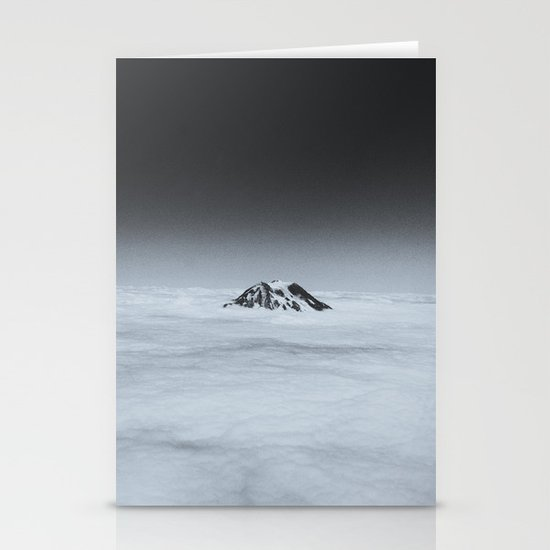 Higher than the Clouds (with an iPhone) Stationery Cards