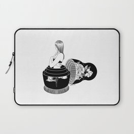 Nobody Knows The Real Me Laptop Sleeve