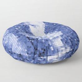 Sapphire Bust Floor Pillow