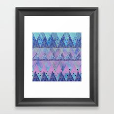 Layered Triangles 2 Framed Art Print
