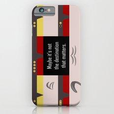 Maybe it's not the Destination that matters - Star Trek: Voyager VOY startrek trektangle minimalist Slim Case iPhone 6s
