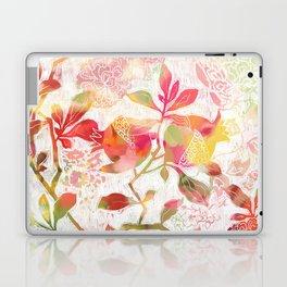 Pomegranate Flowers Laptop & iPad Skin