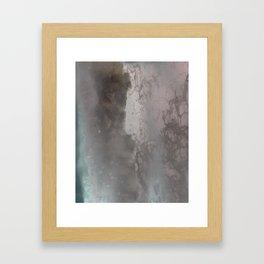 negative sea Framed Art Print