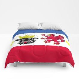 Flag of Mecklenburg-Vorpommern (Mecklenburg-West Pomerania) Comforters