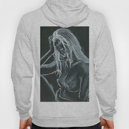Day Dream = Miss Natural Charcoal Hoody