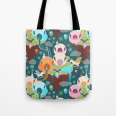 Fantasy Islands Tote Bag