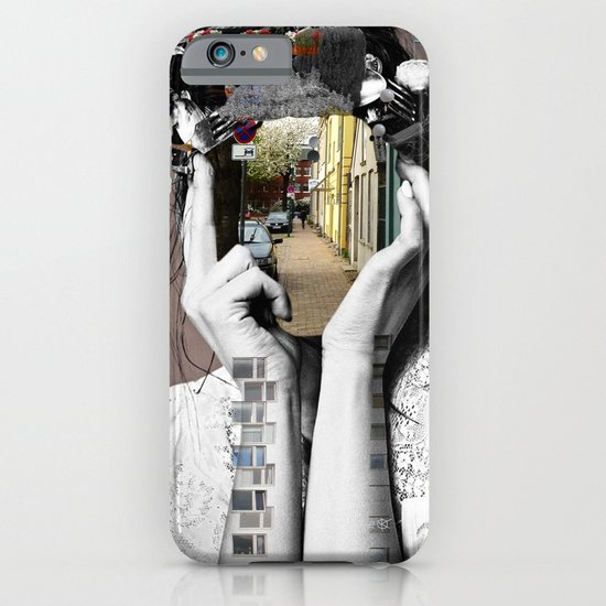 Crazy Woman - Lara Lisa Bella iPhone & iPod Case
