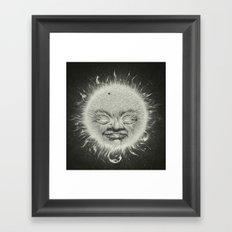 Sirious A Framed Art Print