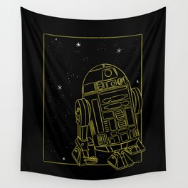 """""""R2-D2"""" by Maggie Stephenson Wall Tapestry"""