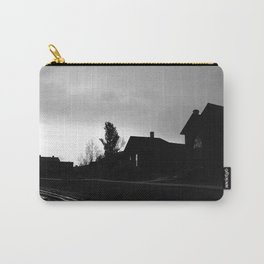 Silhouetted Stillness Carry-All Pouch