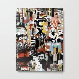 URBAN WORLD Metal Print