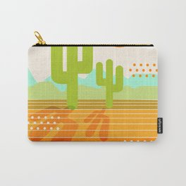 Blazin' - retro vibes southwest socal desert minimal 70s colors throwback 1970's art Carry-All Pouch