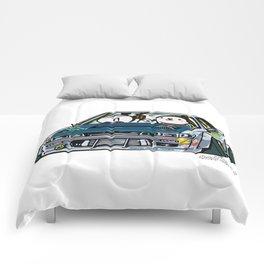 Crazy Car Art 0154 Comforters