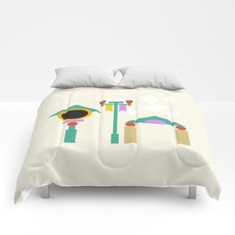 The Midway of Life Comforters