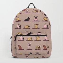 French Bulldog Yoga Backpack