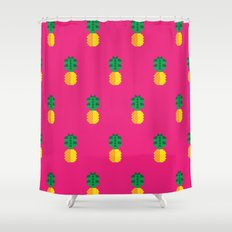 Fruit: Pineapple Shower Curtain