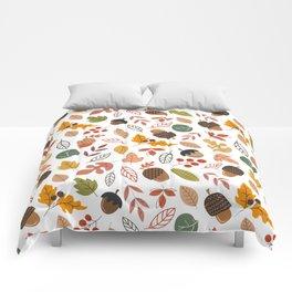 Hello Fall Pattern Comforters