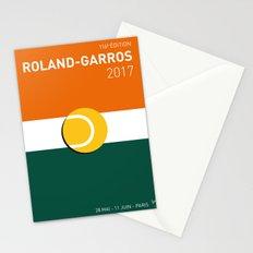 MY GRAND SLAM 02 ROLANDGARROS 2017 MINIMAL POSTER Stationery Cards