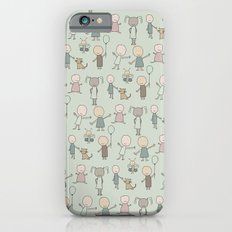 Children Playing-on Mint Slim Case iPhone 6s