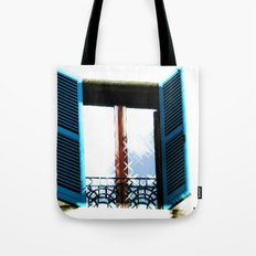 Window to the Present Tote Bag
