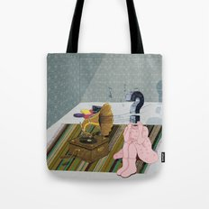 The same old record. Question series Tote Bag