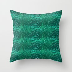 Liquid Metal. Throw Pillow