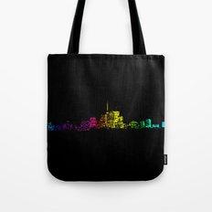 Toronto Skyline Gradient Tote Bag