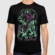 Science Mens Fitted Tee Black LARGE
