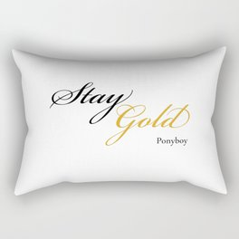 Stay Gold Rectangular Pillow