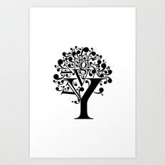 g tree Art Print