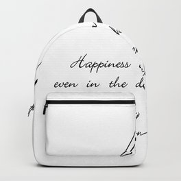 you can find happiness Backpack