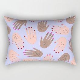 hands boucherouite Rectangular Pillow