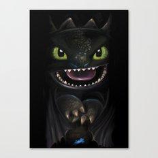 Night Fury Canvas Print