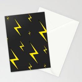 Lightning Bolt Pattern Stationery Cards