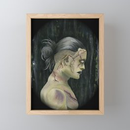 Prometheus Adam ( cameo version ) Framed Mini Art Print