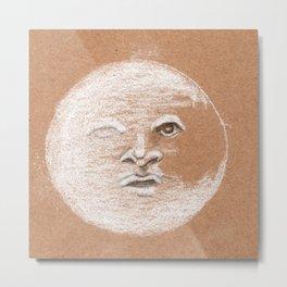 Mister Moon Metal Print