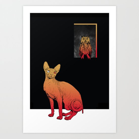 We Own The Night Art Print