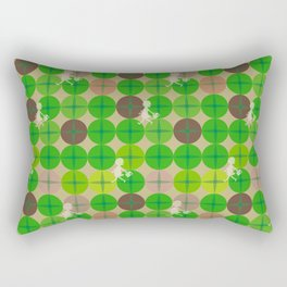 Glass Of Grass Rectangular Pillow
