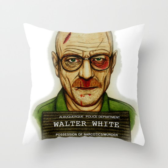 Breaking Bad. Throw Pillow