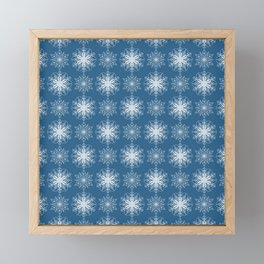 Winter Snow Framed Mini Art Print