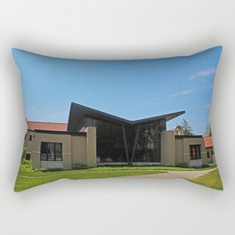 Lourdes University- Academic Support Center Rectangular Pillow